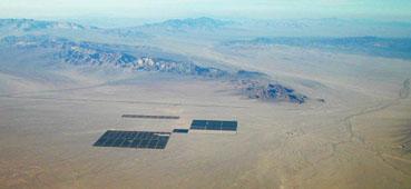 Cadiz groundwater basin in the Mojave Desert